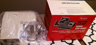 Vintage Lighted 35mm 2x2 Slide Viewer still in the box