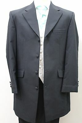 Mens And Boys Black Wool Prince Edward Jackets