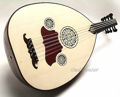 New Turkish Oud + Soft Case and Pick Oriental Fretless Guitar Expedite Shipping!