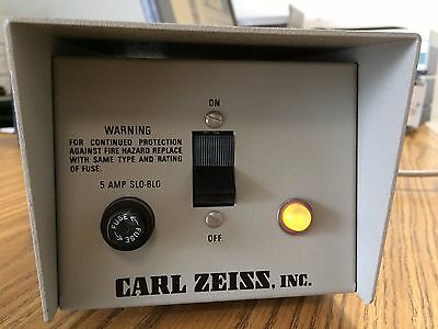 Zeiss Electro Powerpacs Model 1100 Microscope Lamp Power Supply