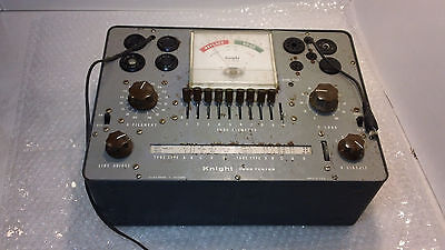 Knight Tube Tester Used Tested Working U.S.A. Made Power Tested