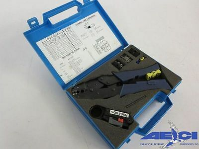 Lucent R-5648 Coax Crimp Tool Kit