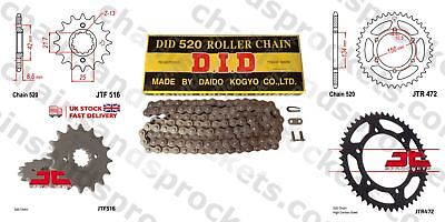 DID Chain Sprocket Kit JTF516.14 / JTR472.48 520 / 110 links