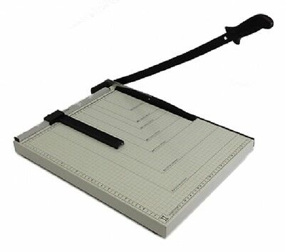"PAPER CUTTER 18 x 15"" inch METAL BASE TRIMMER Scrap booking Guillotine Blade New"