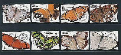 Turks and Caicos Islands 1991 Butterflies SG 1081-88 MNH
