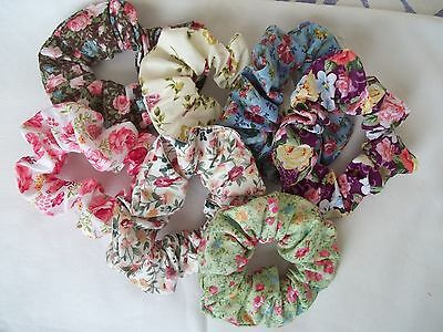 joblot hair scrunchies x 15 - wedding favour/ party favours for bridal showers