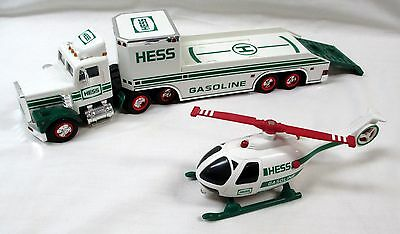 1995 Hess Toy Truck And Helicopter - New