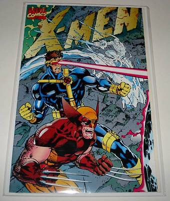 X-MEN # 1 Marvel Comic  October 1991   VFN    FOLD-OUT VARIANT CONNECTING COVER