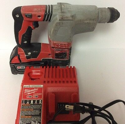 Milwaukee 2605-20 Rotary Hammer Drill With Battery And Charger