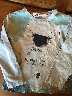 Toddler Boys Long Sleeved H&M Shirt Size 1.5-2 Years