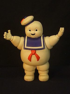 1984 Columbia Pictures Ghostbusters Stay Puft Man Movable Toy Doll Figure