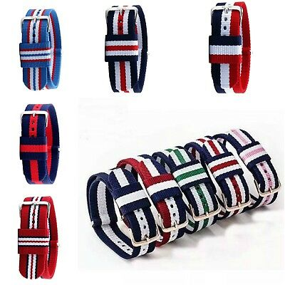 Spirius Military Watch Strap Band Strong Nylon Divers Buckle Canvas 20mm gift