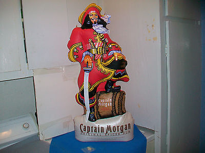 Captain Morgan Nos  34 Inch Inflatable Store Hanging/counter Display Pirate Figu