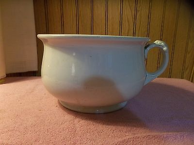 Vintage Alfred Meakin Chamber Pot Potty Made In England Royal Ironstone China