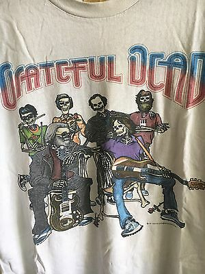 VTG Grateful Dead T-Shirt 1987 Fall Tour Touch of Grey The Dark Jerry Garcia XL!