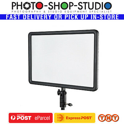 Godox LEDP260C Video LED Light Panel 1600lm Variable  3300-5600K AC Adapter Inc