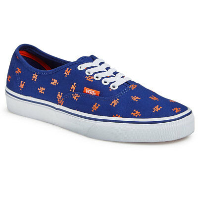 a69cf170d8af Vans New York Mets authentic MLB Shoes! Vans X MLB Authentic MLB Mets!