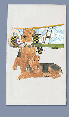 Airedale Dish Towel