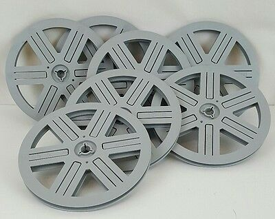 "BONUM 7"" 8MM FILM REEL AUSTRIAN VINTAGE REELS. WELL MADE 8MM REEL😎 Used"