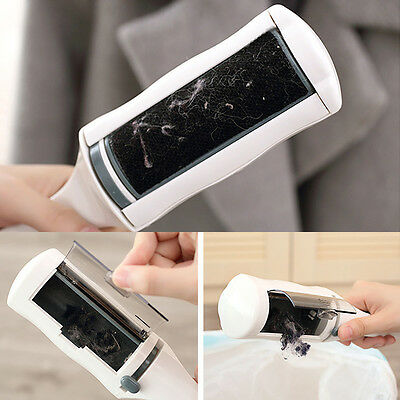 Electrostatic Static Cloth Lint Dust Pets Cat Hair Cleaner Remover Brush Sweeper
