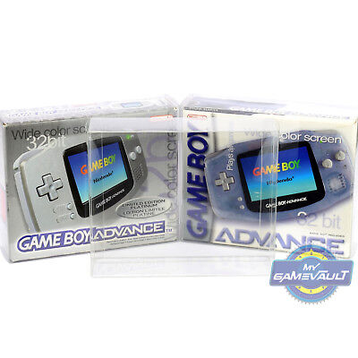 1 x Game Boy Advance Console Box Protector STRONG 0.5mm PET Plastic Display Case