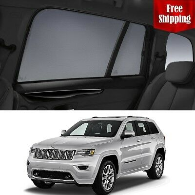 JEEP Grand Cherokee 2013-2018 WK2 Rear Side Car Window Sun Blind Sun Shade Mesh