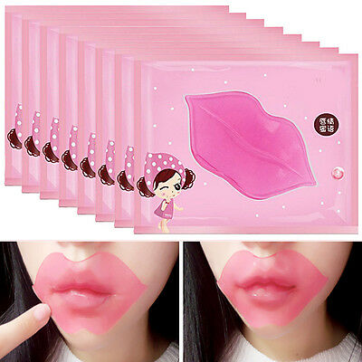 1/5/10Pcs Collagen Crystal Lip Care Mask  Water Moisturizing Moisture Essence
