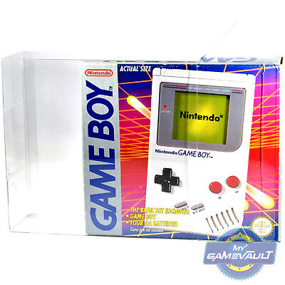 1 x Original Game Boy DMG01 Pink Console Box Protector STRONG 0.5mm PET Plastic