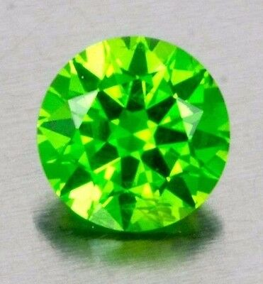 Russian Demantoid Horsetail Rd 0.42ct