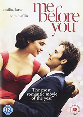 Me Before You Includes Digital Download  with Sam Claflin New (DVD  2016)