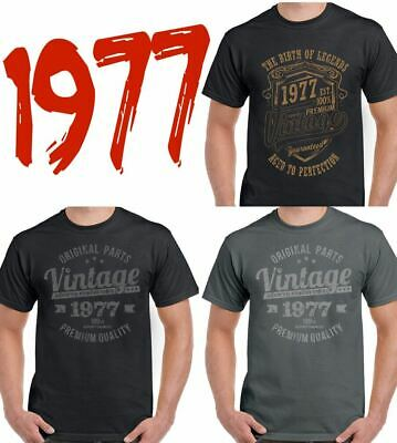 BIRTHDAY DESIGNS 1977 Mens Funny 39th Birthday T Shirt Gift For A 39 Year Old