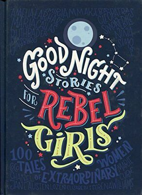 Good Night Stories for Rebel Girls by Elena Favilli New Hardback Book