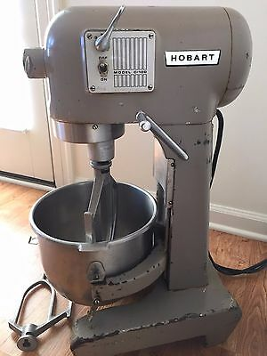 Hobart C-100 C100 10 Quart Qt Industrial Mixer with bowl and paddles WORKS GREAT
