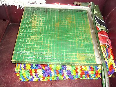 """PREMIER Photo Material Co. Paper Cutter / Trimmer  12""""  Printing. Art  Graphics"""