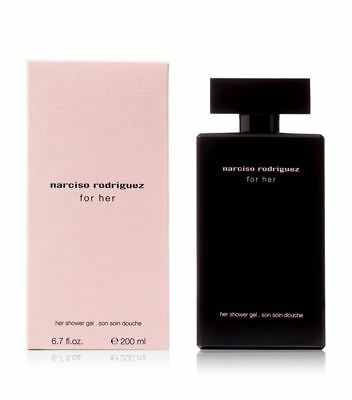 Narciso Rodriguez For Her By Narciso Rodriguez  Shower Gel 6.7 Oz