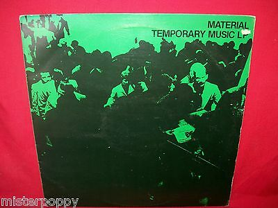 MATERIAL Temporary Music LP 1980 ITALY MINT- Bill Laswell