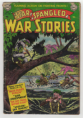 Star Spangled War Stores #133 (#3) 2.0 Used In Pop 1952 Off-White Pages