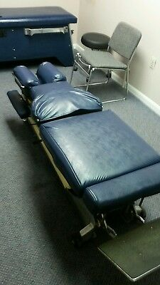 Used Lloyd Chiropractic table w cervical and pelvic drops