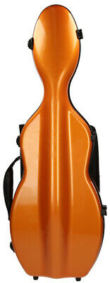 Fiberglass violin case UltraLight 4/4 M-case Orange Light