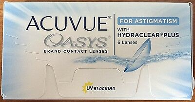 Acuvue Oasys Contact Lens for Astigmatism with Hydraclear Plus