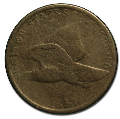 1857 Flying Eagle Cent Coin Lot# A 1651