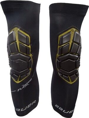 Bauer Elite Padded Goalie Knee Guards Senior