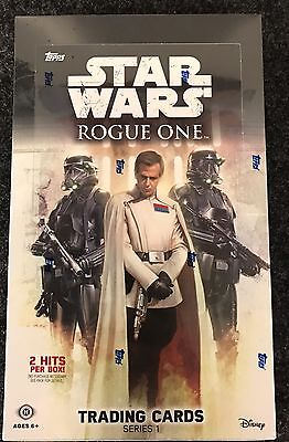 2016 Topps Star Wars Rogue One Series 1 Factory Sealed 24 Pack Hobby Box