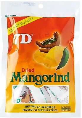 New Authentic Original 7D DRIED MANGORIND 90g Export Quality Packs USA Seller