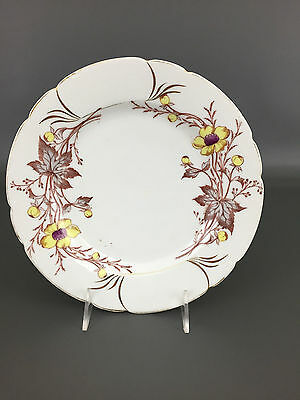 Antique Aesthetic Movement, #728-57 porcelain dinner plate 1890's