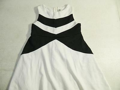 Rare Editions Baby Girls Sleeveless Black/White Dress Size 3T/3 MSRP $59