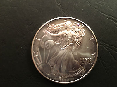 1994 US Uncirculated 1troy oz fine silver Dollar Coin