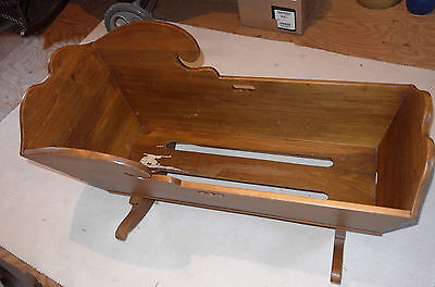 Antique Cradle  - Handmade Dovetailed - A Real Beauty!