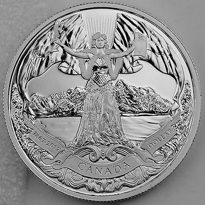 2017 150th Anniversary of Canadian Confederation Pure Silver Dollar Proof