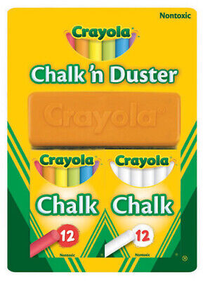 Crayola Chalk & Duster Blackboard Set